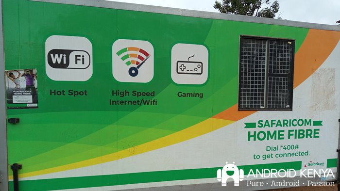 What can you do with a Kshs 4,000 home internet connection?