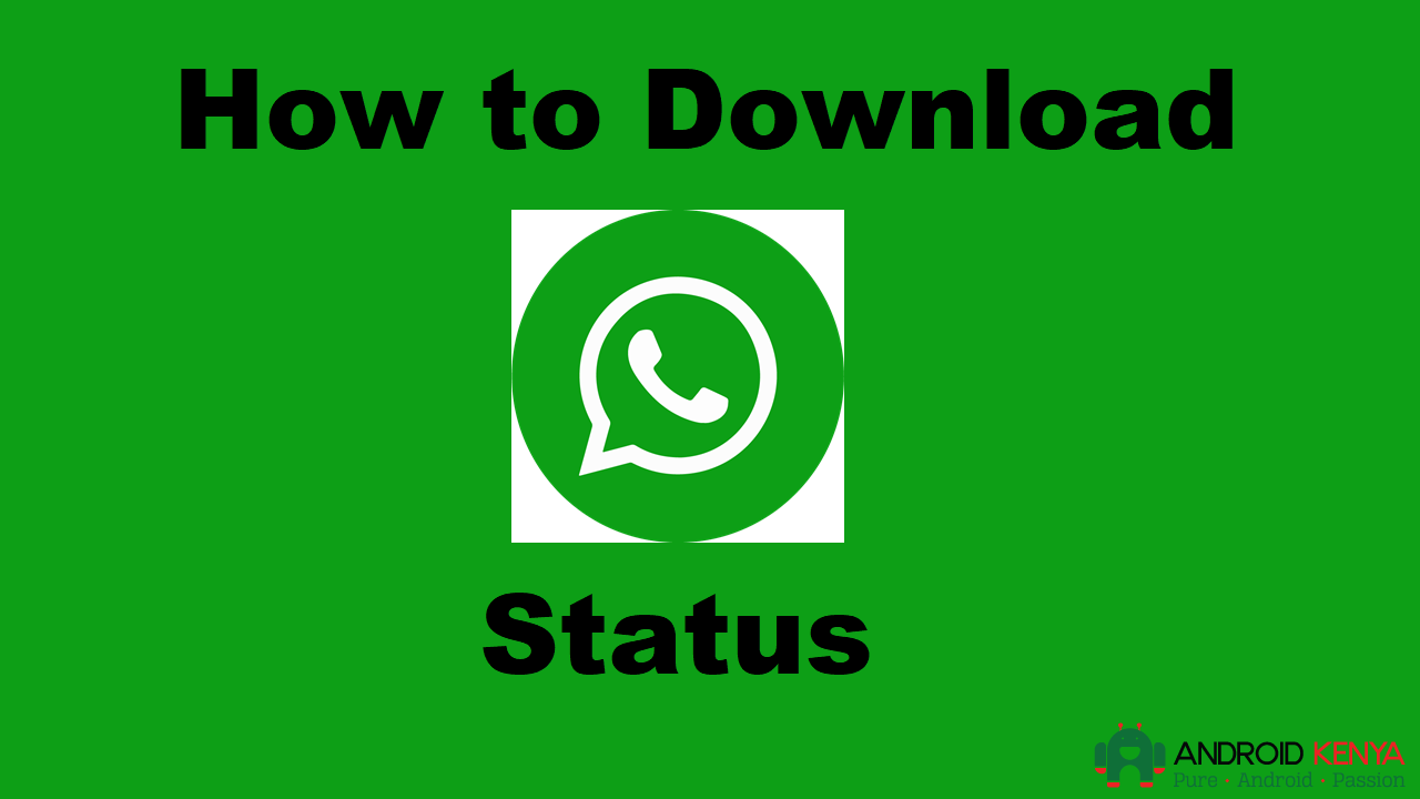 How to download WhatsApp status using the official version