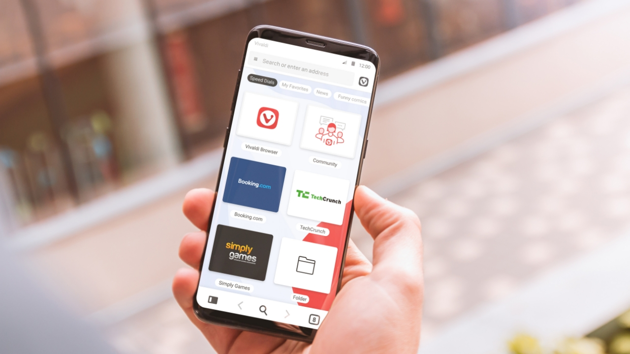 Vivaldi browser finally goes goes mobile, lands on Android first